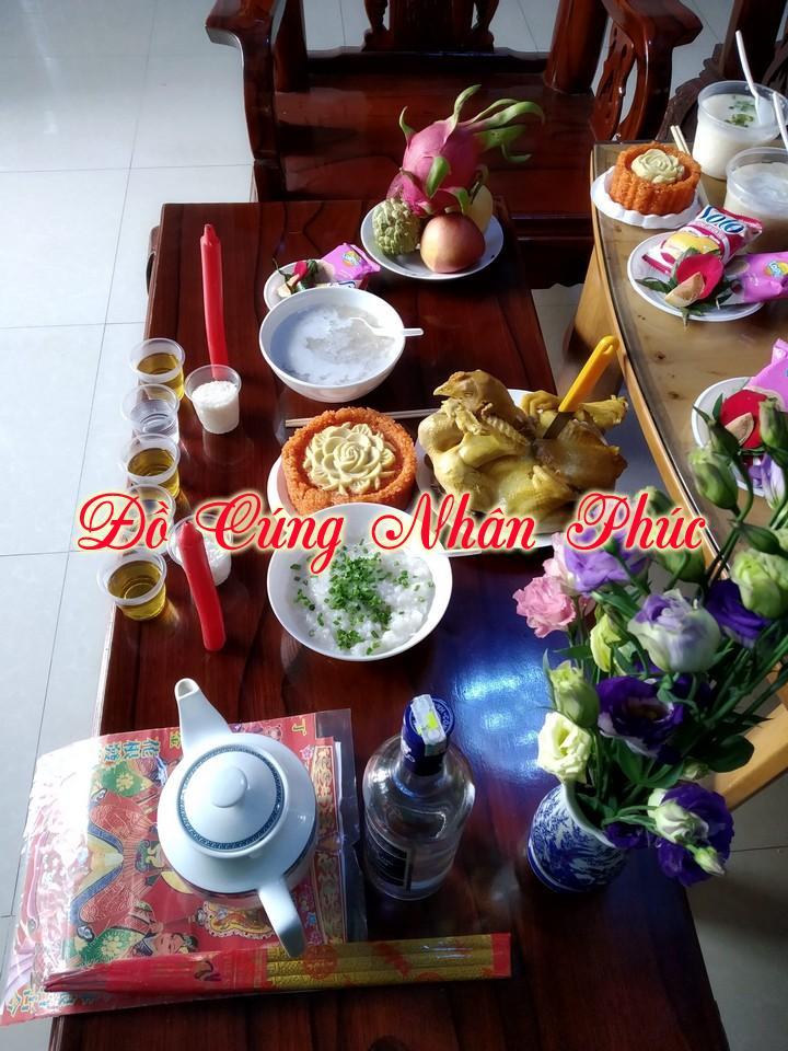 Hình mâm cúng đầy tháng tại Biên Hòa Đồng Nai 10