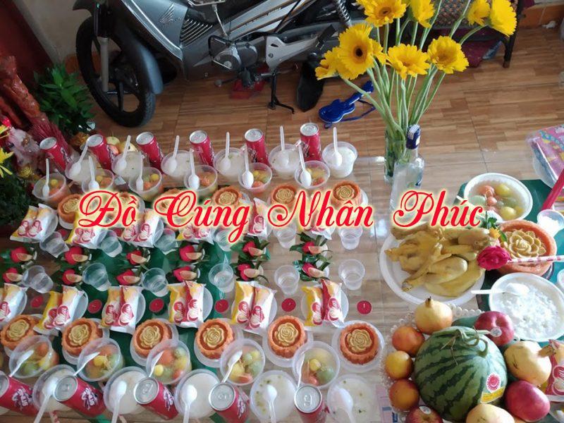 Hình mâm cúng đầy tháng tại Biên Hòa Đồng Nai 12
