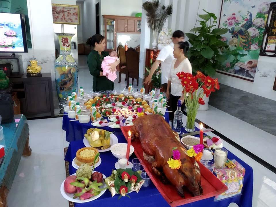 Dịch vụ đồ cúng Biên Hòa được nhiều gia đình lựa chọn.