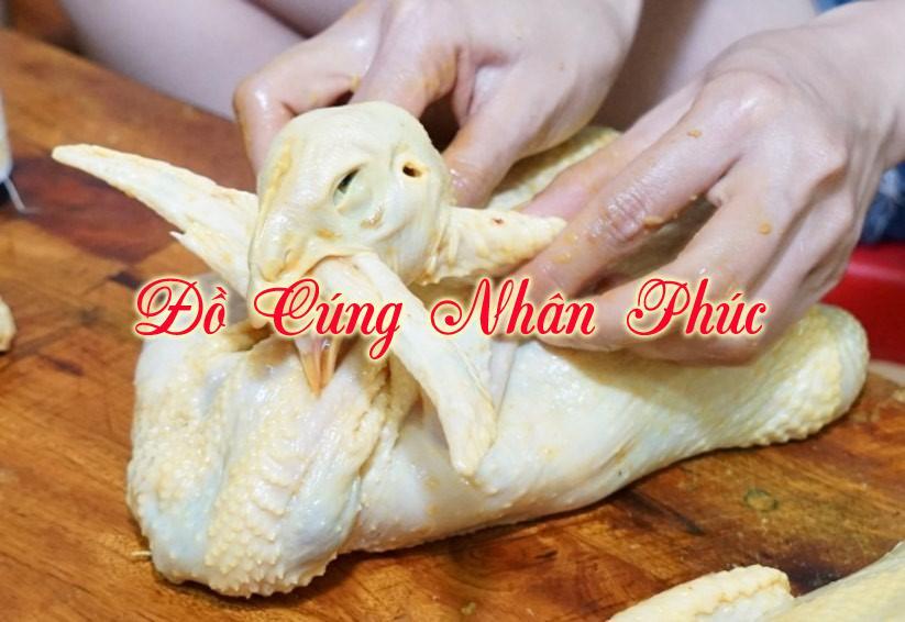 Cách làm gà cánh tiên để cúng đơn giản mà đep mắt 2