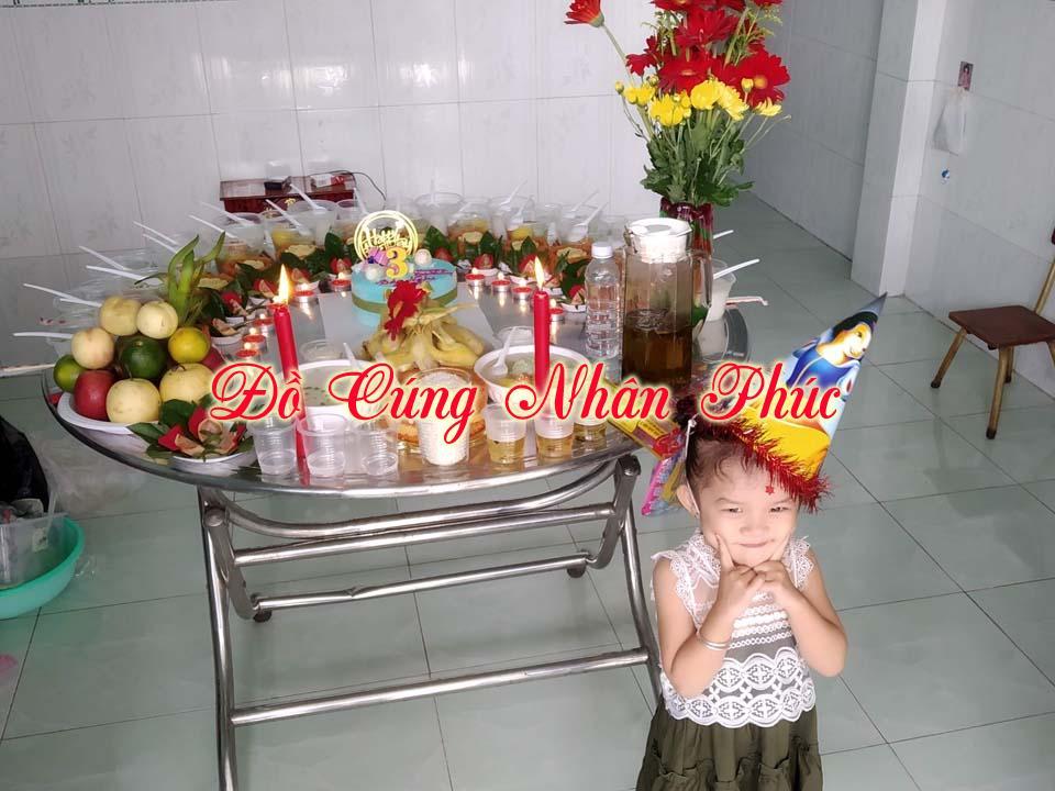 Hình ảnh mâm cúng căn cho bé tại Bình Dương 8